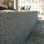 Steinmauer Gitter